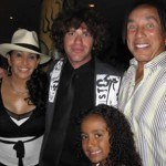 Zach with Smokie Robinson & Family