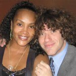 Zach with Vivica Fox