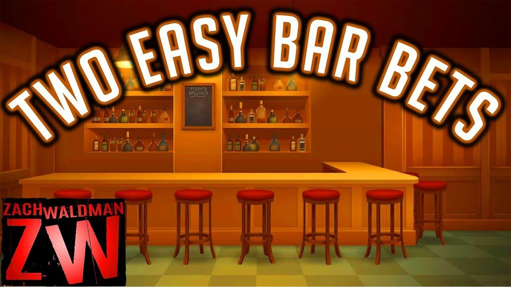 Two Easy Bar Bets
